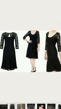 New Monsoon Louise Lace Black Dress, 14 UK, rrp £99