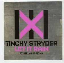 (FA973) Tinchy Stryder, Let It Rain ft Melanie Fiona - 2010 DJ CD