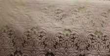 "100% SILK DAMASK ITALIAN FABRIC PEACH/GOLD COLOR 54""UPHOLSTERY P71503BY THE YARD"
