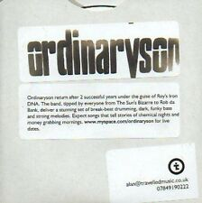 (120D) Ordinaryson, 3 track sampler - DJ CD