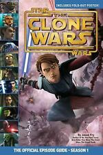 The Clone Wars by Jason Fry (2009, Paperback, Guide w/ Original Poster Intact !!