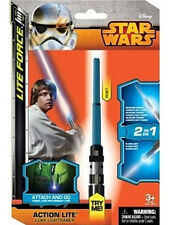 Classic Star Wars Luke Spring Loaded Mini Light Saber Action Lite Toy NEW SEALED