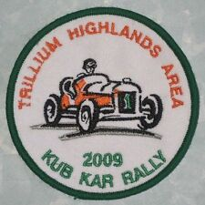 Trillium Highlands Area 2009 Kub Kar Rally Patch