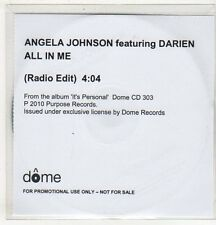 (EV521) Angela Johnson ft Darien, All In Me - 2010 DJ CD