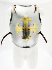 Rüstung Brustplatte Cavaliere Templer stahl einstellbare