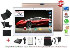 32 Gb 10.1 Pulgadas Tablet Pc 3g Con Teclado Funda Android 5.1 Quad Core Phone Call Sim