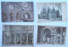4 Vintage Postcards From Italy Unused Basilica Del Santo Cappucini St. Peter's