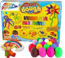 GIANT PLAY DOUGH SET 30 CRAZY COLOURS MOULD MAKE & CREATE CRAFT KIT 65-6944