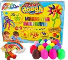 Juego Gigante Masa Set 30 Colores Loco Molde hacer y Crear Artesanía Kit 65-6944