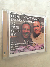 LIONEL HAMPTON & SVEND ASMUSSEN CD AS TIME GOES BY 0602498148921 JAZZ