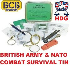 BRITISH ARMY BCB COMBAT SURVIVAL KIT TIN SAS SF RAF MILITARY MARINES CADET SCOUT