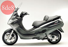Piaggio X9 Evolution 500 (2005) - Manual de taller en CD