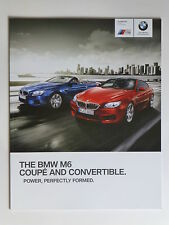 BMW M6 coupe-convertible 2013 SALES BROCHURE