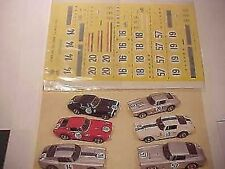 FERRARI 250 GT SWB LE MANS 1961 1/43 DECALS KIT