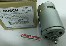 2609199258 DC motor 10,8v BOSCH (1607022515) Find your machine in the details
