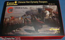 CAESAR Set #43. CHINESE HAN DYNASTY TROOPERS.1/72 Scale Plastic Figures x 35