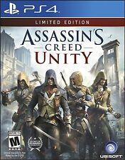 NEW Assassin's Creed: Unity (Sony PlayStation 4, 2014)