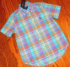 POLO RALPH LAUREN ORIGINAL BOYS BRAND NEW DRESS SHIRT Size L (14-16), NWT