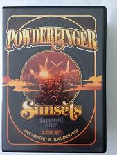 POWDERFINGER Sunsets - The Farewell Tour DVD Free Post