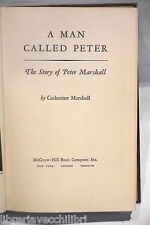 A MAN CALLED PETER The story of Peter Marshall Catherine Marshall Religione di e