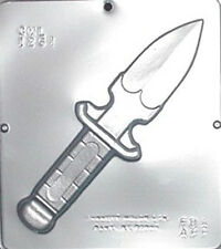 Hunting Knife Chocolate Candy Mold  1261 NEW