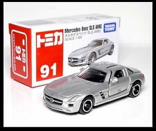 TOMICA #91 Mercedes-Benz SLS AMG 1/65 TOMY DIECAST CAR 2012 January NEW MODEL
