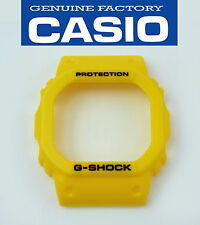 Casio G-Shock DW-5600FS-9 DW-5600P-9 watch band bezel yellow Rubber case cover