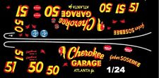 #50/51 Gober SoSebee Cherokee Garage 1/25th - 1/24th Scale Waterslide Decals