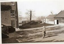 "WW2 Home Guard on Guard Duty ARP Army Civil Defence Original Photograph 6"" x 4"""