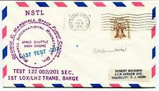 1978 NSTL George Marshall Space Flight Center Rockwell Test 122 002/201 Sec NASA