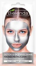 BIELENDA Detox Silver metaliczna maseczka oczyszczająca/ Metallic face mask