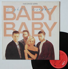 "Vinyle maxi Eight Wonder  ""Baby baby"""