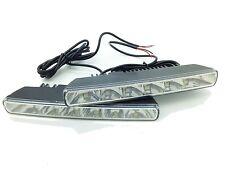 6 LED Hohe Energie 18cm Tagfahrlichter E4 & Rl00 Tageslicht Lampen Renault 12V