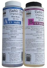Epoxy Table Top Resin, 1 Pint Kit, Crystal Clear, Includes Part A & B 135371