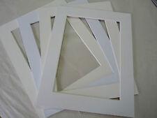 """Photo Mounts 9""""x7"""" whites"""