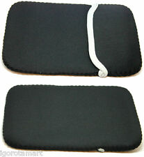 "Nero 7"" Morbido Manica Borsa Custodia Cover Marsupio Per Tablet 7 pollici Ebook Reader"