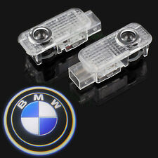 2pcs LED Welcome Projector Logo Ghost Shadow Car Door Lights Lamp Bulb For BMW