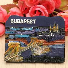 3D Resin Travel Collectible Fridge Magnet Tourist Souvenir - Budapest, Hungary