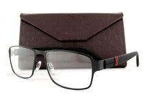 Brand New GUCCI Eyeglass Frames 2271 M56 Black Rubber Men Women 100% Authentic
