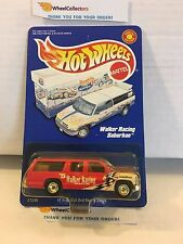#3 Walker Racing Suburban RED * w/ Real Riders * Hot Wheels * M2