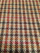 100% Wool Country Tweed Curtain/Upholstery Fabric 3 Cols,Down On The Farm,Ilkley