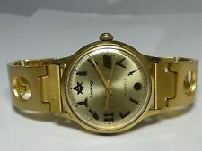 VINTAGE MENS VANTAGE 17 JEWELS WINDING WRISTWATCH WATCH RUNS