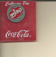 AE-030 - Vintage 1997 Coca-Cola Coke 5-cents clutchback Pin on Card
