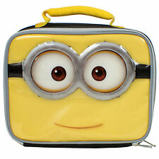 Despicable Me Minions Lunch Box Kit NEW Insulated Minion School Bag