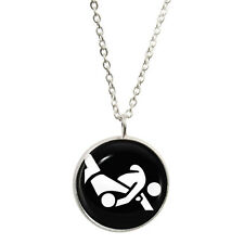 Judo Olympic Symbol Pendant & Necklace Gift Boxed wrestling combat martial art