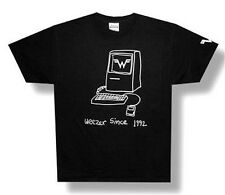 WEEZER - SINCE 1992 COMPUTER BLACK T-SHIRT - NEW ADULT XX-LARGE 2XL