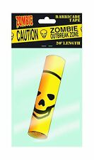 Zombie Barricade Tape Outbreak Zone 20' Length Caution New Mint