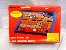 Science Fair Solar Power Lab In Box & Instruction Manual Vintage Educational Toy