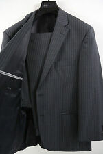 HUGO BOSS Pasini2/Movie2 Stripe Two Button Suit Size 42 R