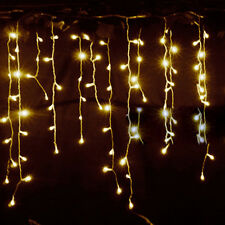 Icicle Hanging Snowing Net Fairy Lights In/Outdoor Christmas Wedding Party Lamp